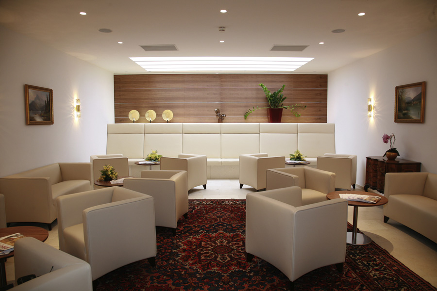 Lobby des 4-Sterne Superior Hotels