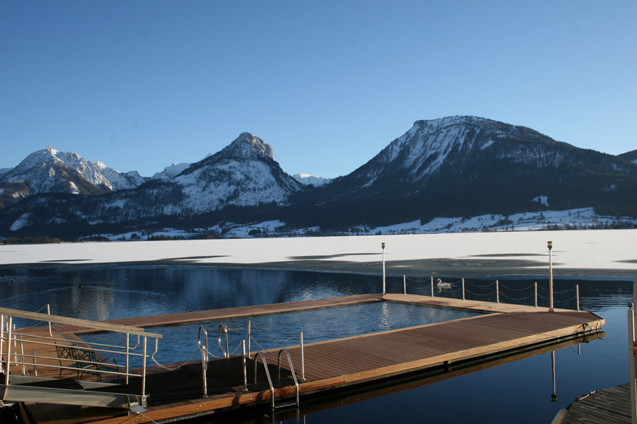 Wellness im Winter am Wolfgangsee